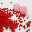 Waball expanding spheres for floral decoration, red, 1.5cm, 900 pieces, (SJN0002)